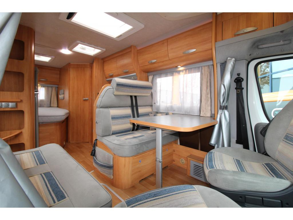 Adria Coral 650 SP TOP-indeling, Airco
