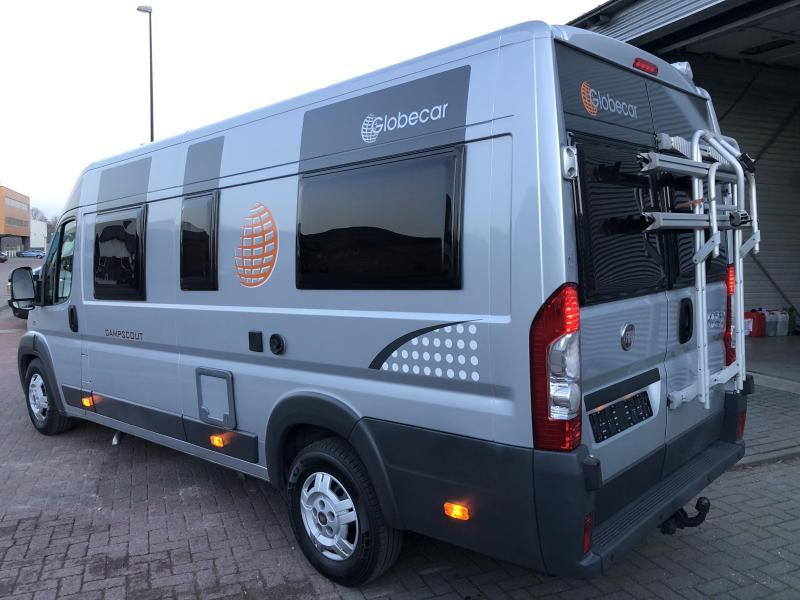 Globecar Campscout 640 AUTOMAAT- LENGTE BEDDEN