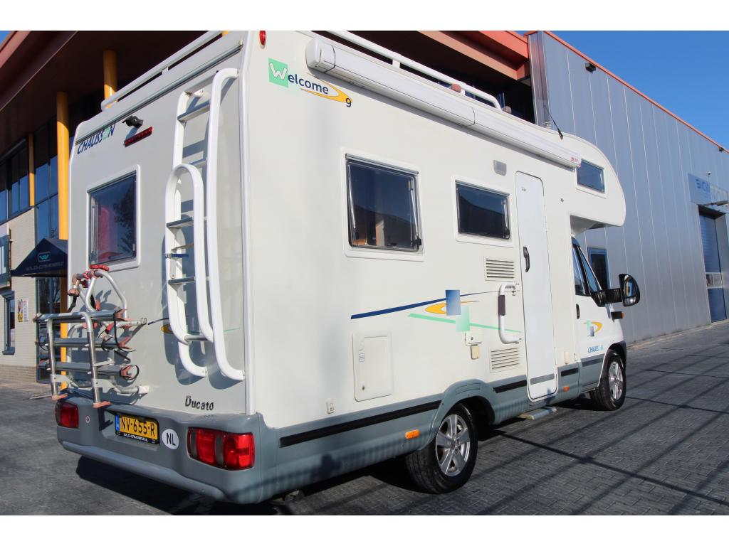 Chausson Welcome 9 Frans bed + Alkoof bed