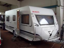Dethleffs Camper 510 V ENKELE BEDDEN