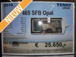 Fendt Opal 465 SFB MODEL 2019