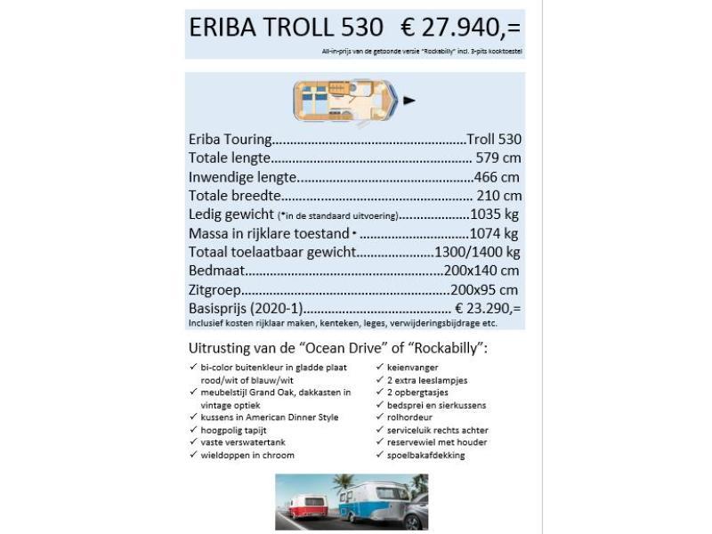 Eriba Touring Troll 530 - Rockabilly