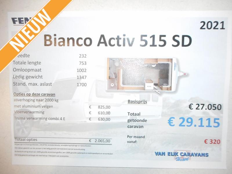Fendt Bianco Activ 515 SD Nieuw Model 2021