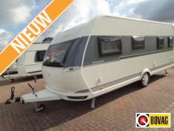 Hobby Excellent 560 WFU Zeer ruime caravan met rondzit,