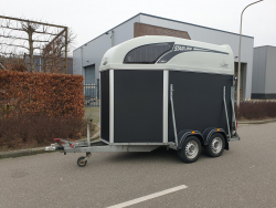 Atec Starline 2paards harde trailer