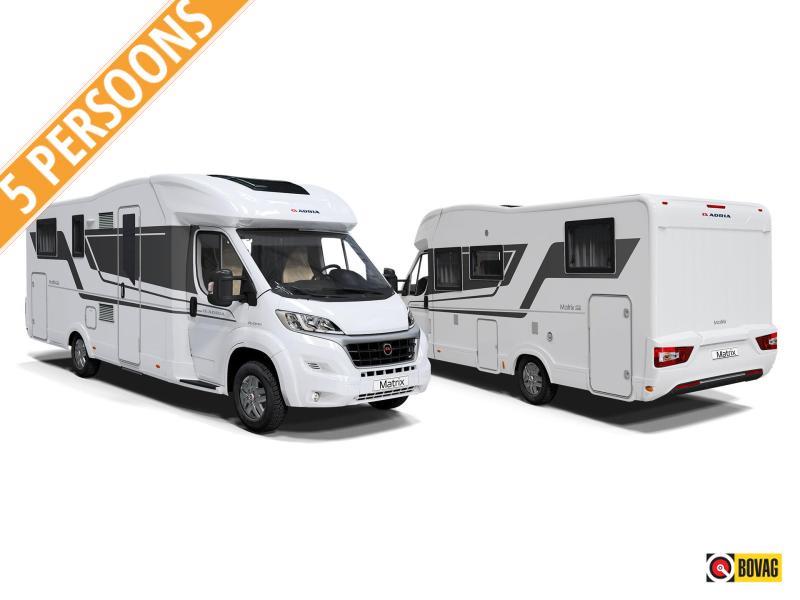 Adria Matrix 670 SL 165PK 5.pers.camper