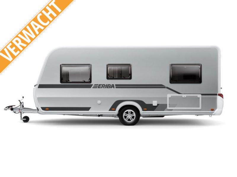 Eriba Nova Trend 445 Zilver en Designpakket