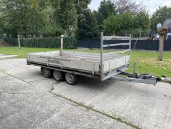 Hulco Medax-2 Hulco Plateauwagen 400x200 cm