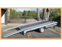 Humbaur MTK - kiepende transporter