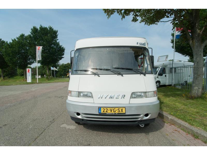 Hymer B 654 654/vastbed/hefbed/2.5tdi