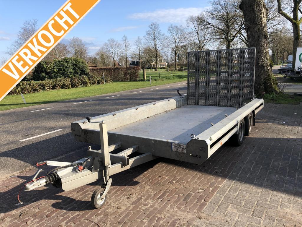 Hulco Terrax-2 machinetransporter 3000kg