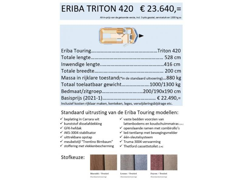 Eriba Touring triton