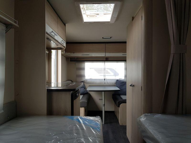 Caravelair Antares Style 450 2 aparte lengte bedden