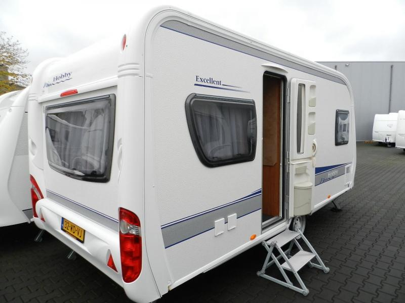 Hobby Excellent 460 UFE Dorema tent - 2009