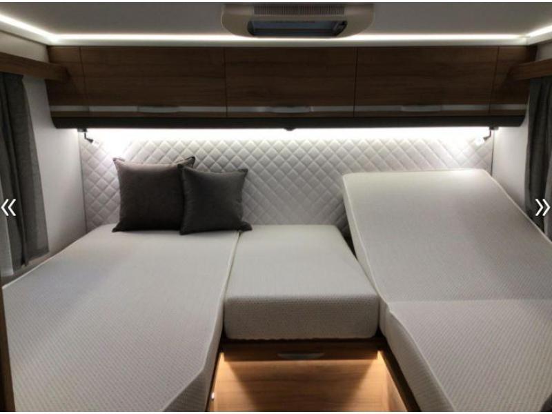 Adria Coral S 600 SL 165pk TV Skew 2020