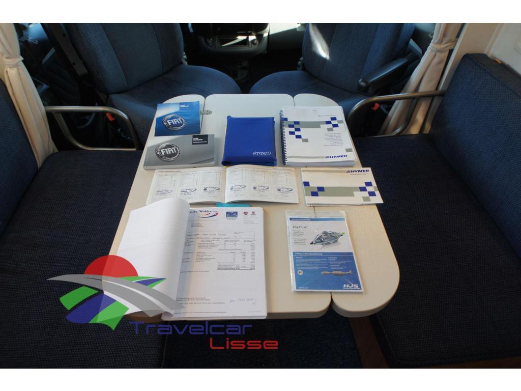 Hymer Exsis SK AIRCO/CRUISE/TREKHAAK bij Travelcar te Lisse