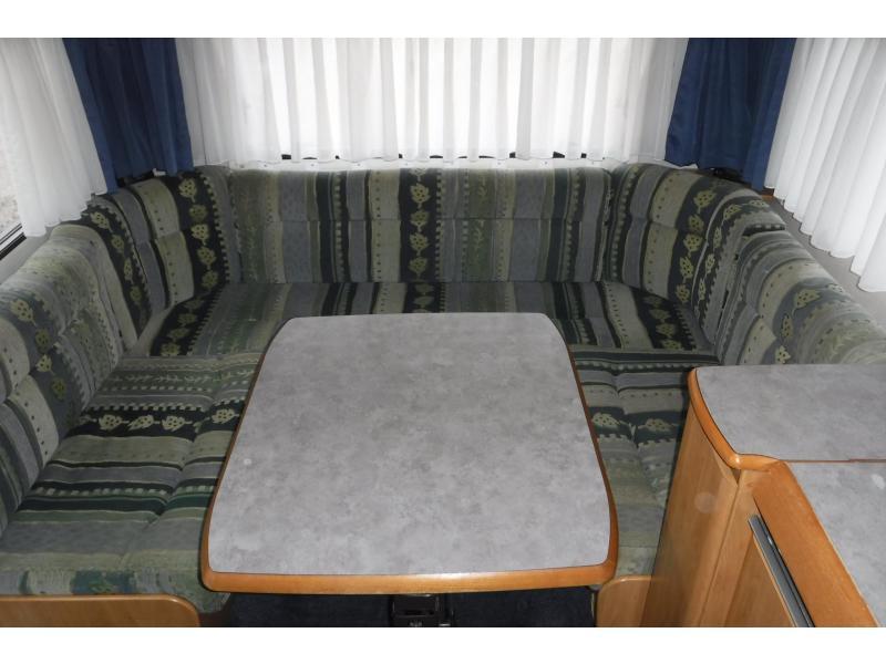 Eriba Nova 545 enkele bed rondzit mover - 1999