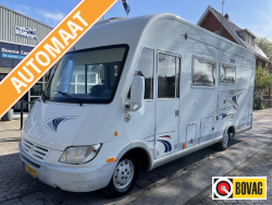 Frankia Holiday Class 650  Automaat Hefbed Airco