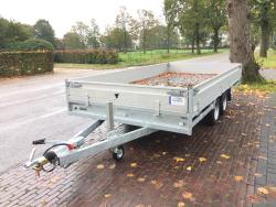 Hulco Nieuw model Medax plateauwagen