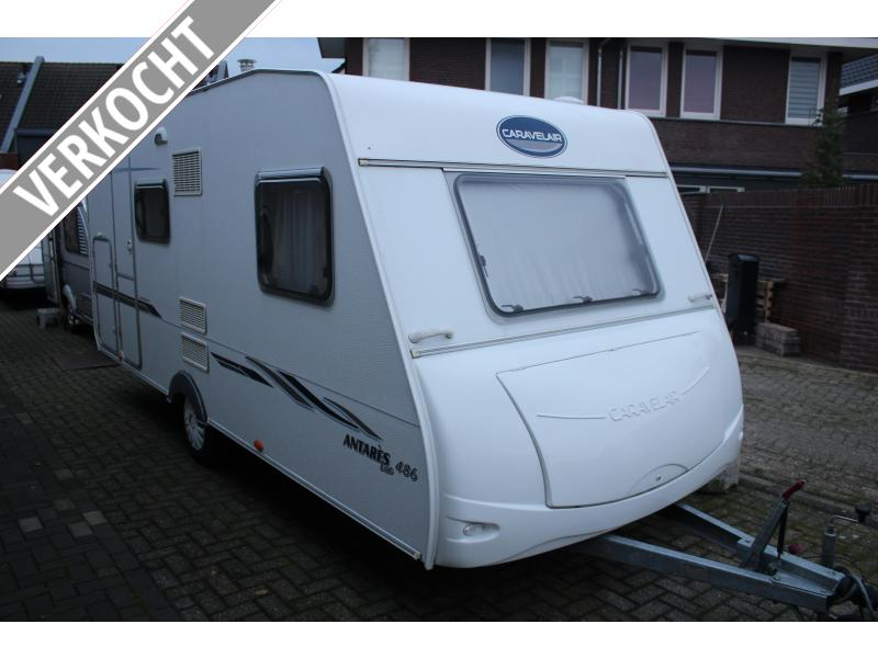 Caravelair Antares Luxe 486 Stapelbed 6persoons 2006