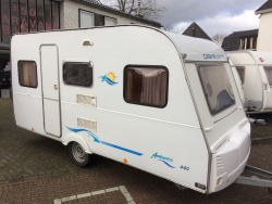 Caravelair Antares 440 4pers vastbed 2002 luife