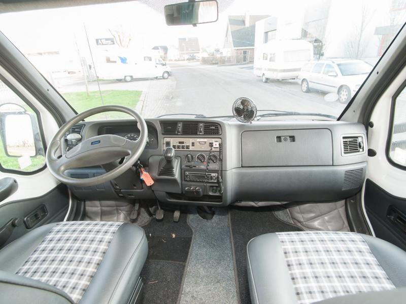 Dethleffs Globetrotter  1997 Fiat 2.5 TDi 116 PK