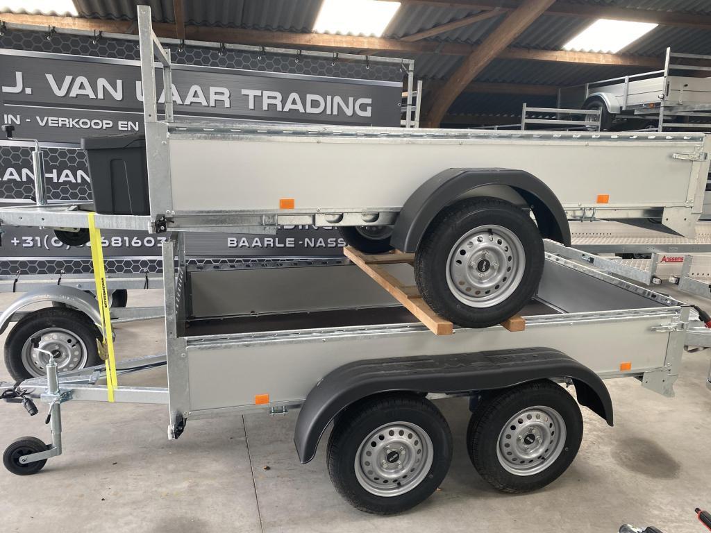 BW-Trailers Aluminium-bakwagen-TOPPER!