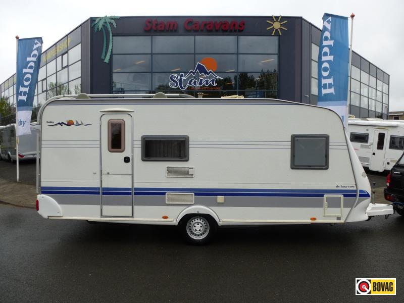Hobby De luxe Easy 500 KMFE Stapelbed,Airco,Voortent! bij