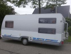 Dethleffs Camper 510 TK VOORTENT, STAPELBED