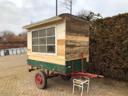 Astorc Customwagen tiny house pipowagen tuinhuis