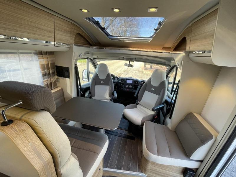 Adria Coral Axess 600 SC Queensbed 18000 km 2017