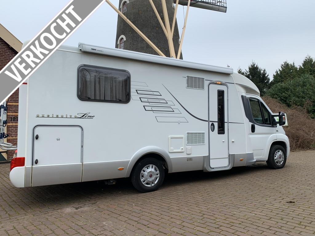 Hymer Exclusive Line 698 CL Queensbed