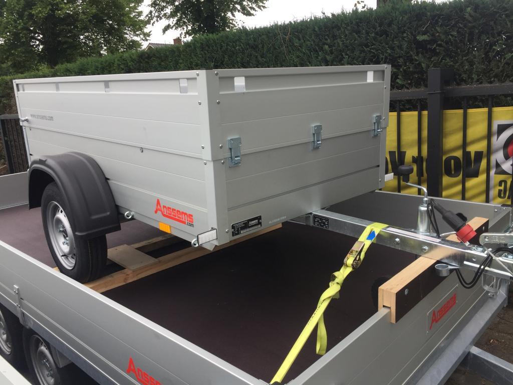 Anssems GT 750 HT Bagagewagen montagewagen