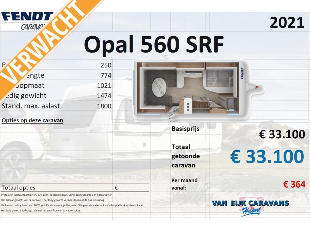 Fendt Opal 560 SRF Wordt verwacht !