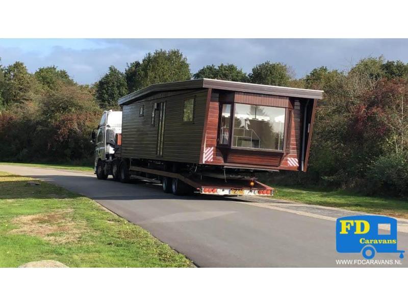 Chalet en Stacaravan Transport