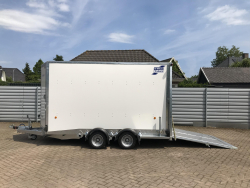 IFOR Williams Trailer BV 126G Gesloten aanhangwagen