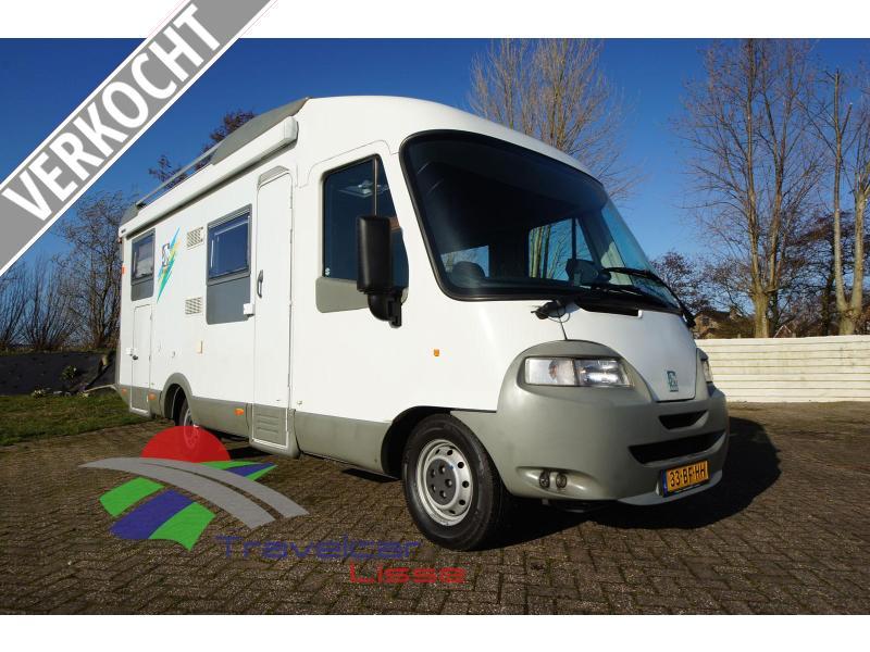 Knaus Travel-Liner 710 GH Bovenkastjes/Alde/2x AC