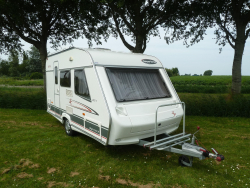Beyerland Sprinter Sport 390 D Zeer nette caravan