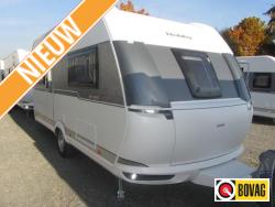 Hobby De Luxe Edtion 460 UFE Reiscaravan met mooie rondz