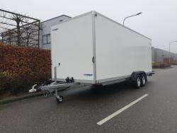 WM Meyer Gesloten wagen 6x2x2 met klep