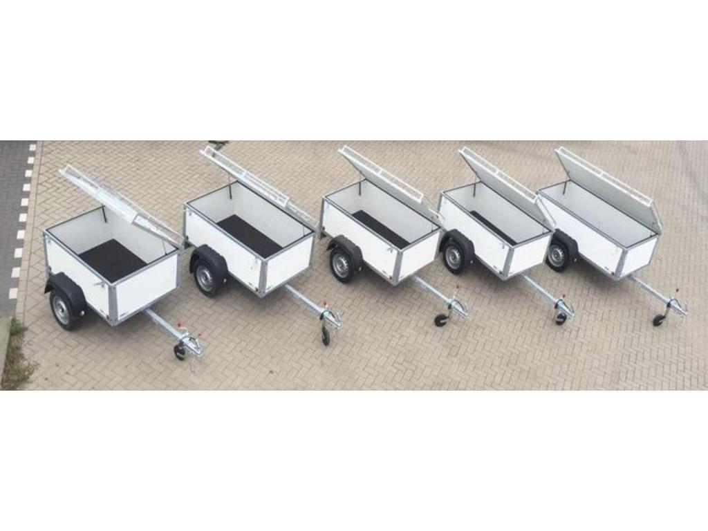 VL aanhangwagen Degelijke-bagagewagens
