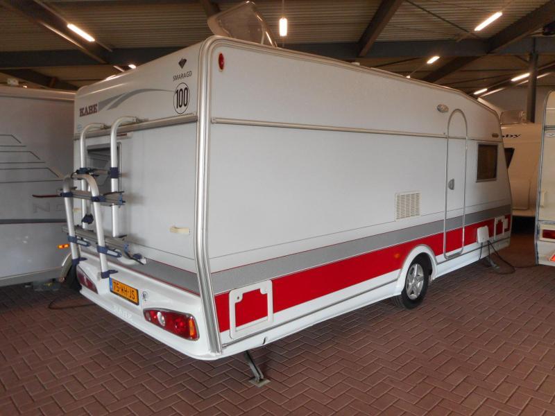 Kabe Smaragd 520 XL Winter caravan, mover