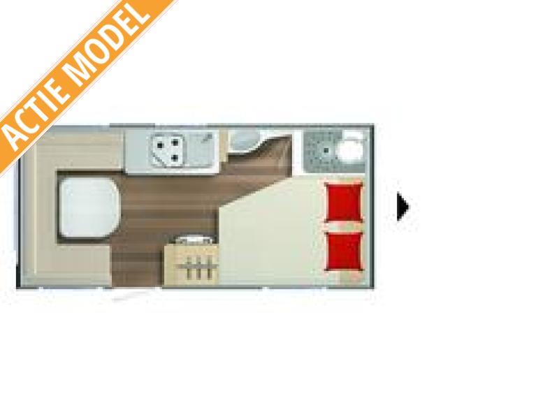 Burstner Premio 450 TS (87) NL aktie model