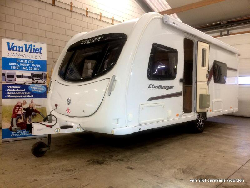 Swift Challenger  mover, airco, Thule - 2011