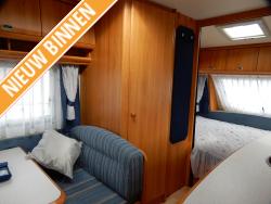 Hobby De luxe Easy 440 SF Dwarsbed Zit Toilet Tent