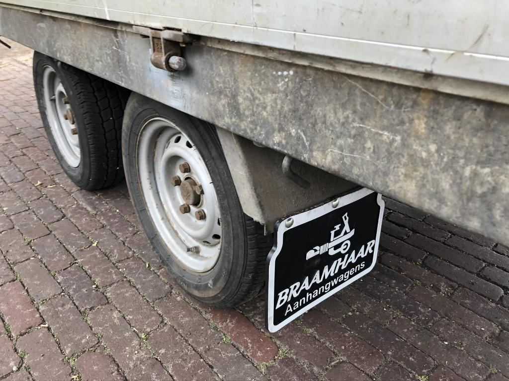 Hapert AL plateauwagen tandemasser