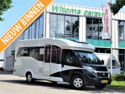 Hobby Optima De Luxe 65 HGQ Nieuwstaat!! 9000 km!