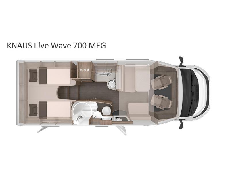 Knaus L!ve Wave 700 MEG