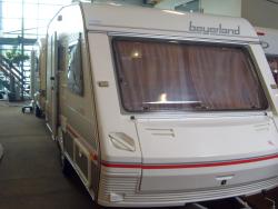 Beyerland Sprinter 430 TM met NIEUWE VOORTENT