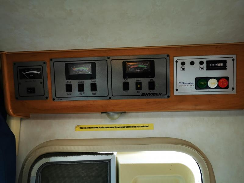 Hymer B644  2x airco vol extras